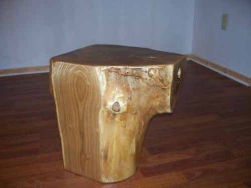 Pine Tree Stump Coffee Table