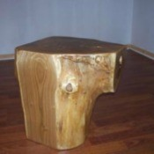 Pine Tree Stump Coffee Table