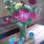 A beautiful bunch of flowers for Mother's Day.