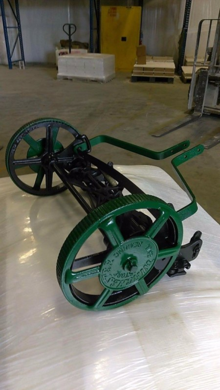 Finding The Value Of Vintage Winchester Reel Push Mowers