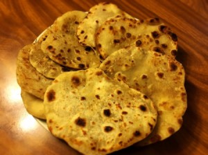 cooked Homemade Soft Flatbread