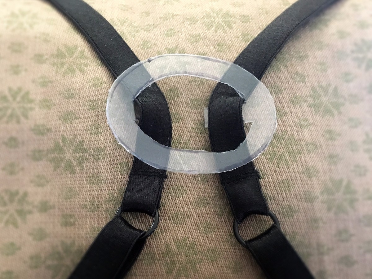 a993abfa4d Bra strap hiders are fashion lifesavers! Slip them on to hide your bra  straps when you re wearing a racer back (or front) garment.