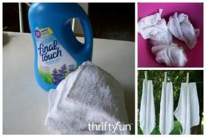 Easy Reusable Dryer Softener Sheets