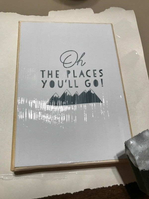 How To Mod Podge Cardstock Prints To Canvas Thriftyfun
