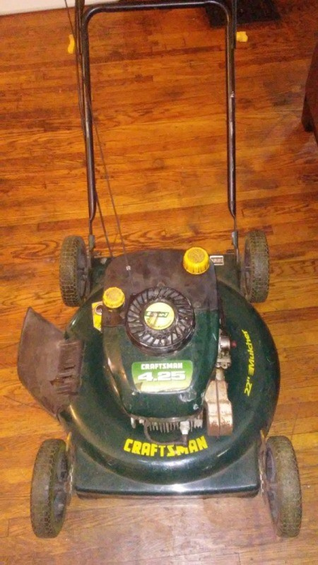 Mower Pull Cord Not Working - gas powered push mower