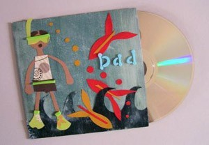 Personalized CD or DVD for Father's Day