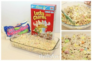Lucky Charms Cereal Treats Recipe