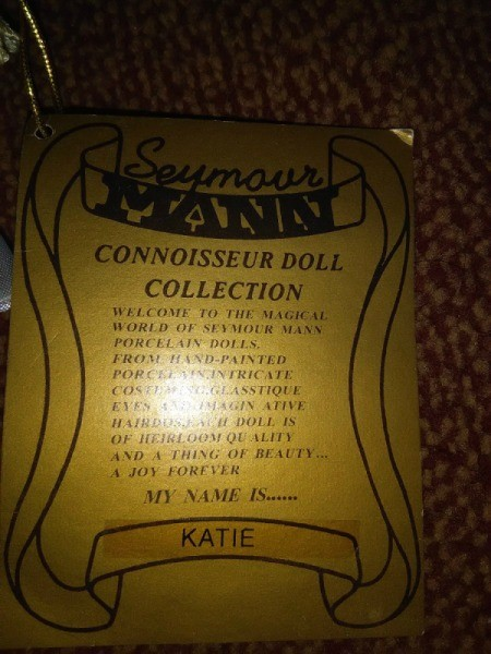 Value of Seymour Mann Connoisseur Katie Doll