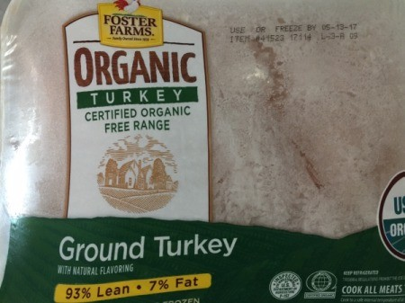 Ground Turkey package