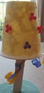 Handmade Maracas for Children - decorated plastic cup maraca