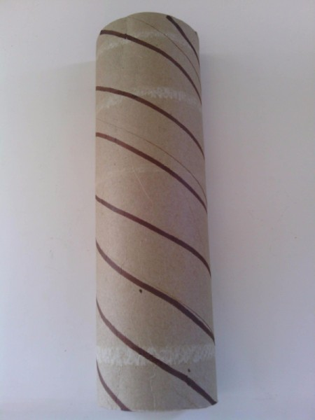 Balloon Ice Cream Cone Decoration - lines the length of the tube