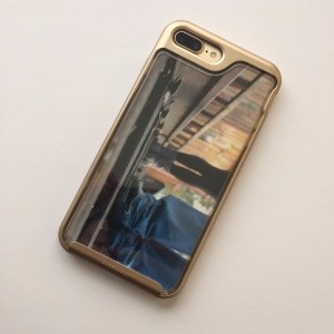 Personalized Cell Phone Case - photo fitted inside the case