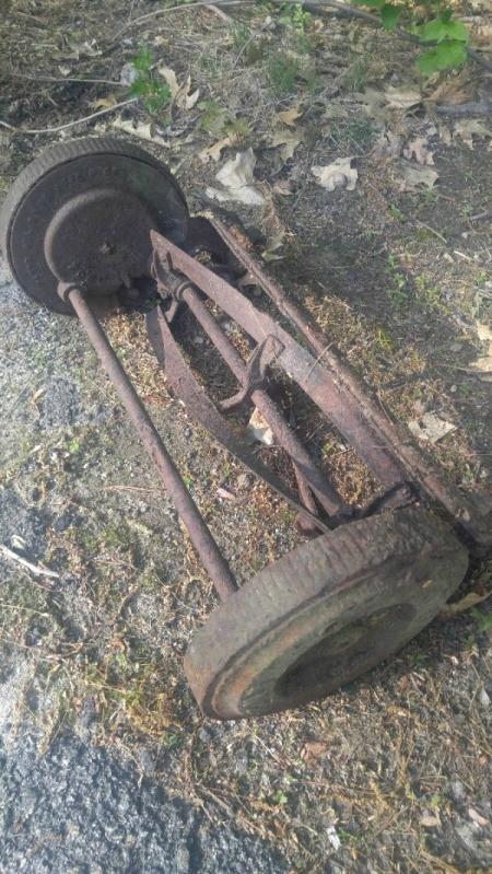 Identifying an Old Reel Mower