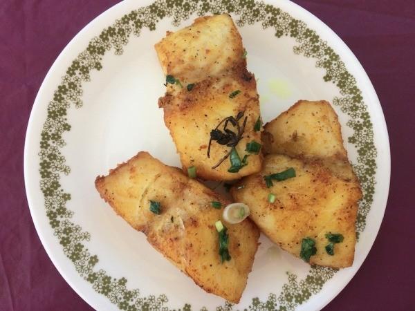 Lightly Fried Cod Fillet Thriftyfun