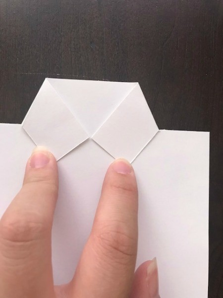 Father's Day Money Holder Card - fold in to meet for collar