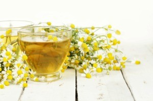 Chamomile Herbal Tea With Chamomile Flowers