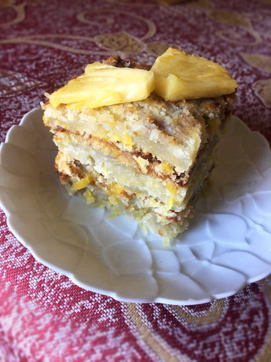Vegan Pineapple Banana Cake Thriftyfun