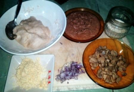 Tuna Mushroom Puff ingredients