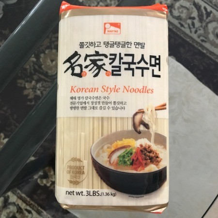 Korean-Style Noodle package