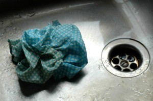 Dirty Dishcloth
