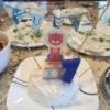 Pennant Birthday Cake Topper - pennant cake topper