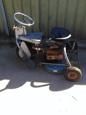 Value of Falcon Three Wheel Riding Mower - cute riding mower