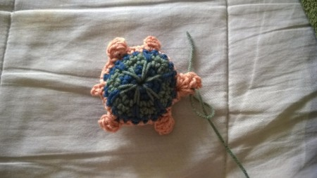 Crocheted Turtle - make ey