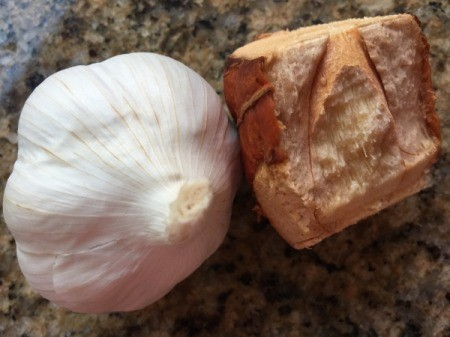 garlic and galangal