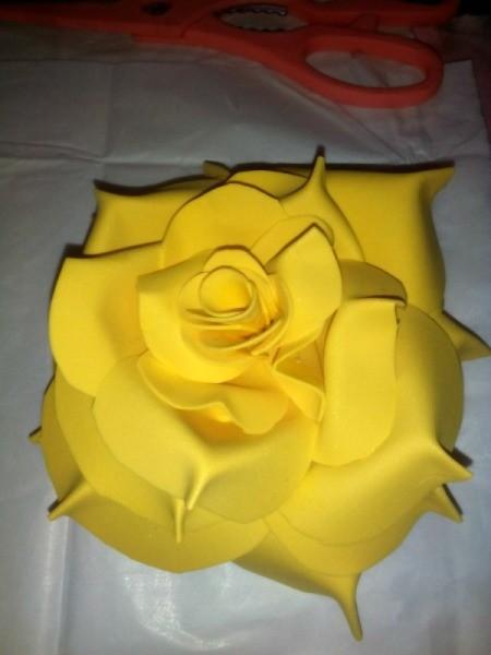 Rubber Foam Roses