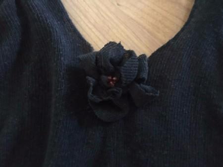 Mini Flower Crop Top from Leggings - sew on
