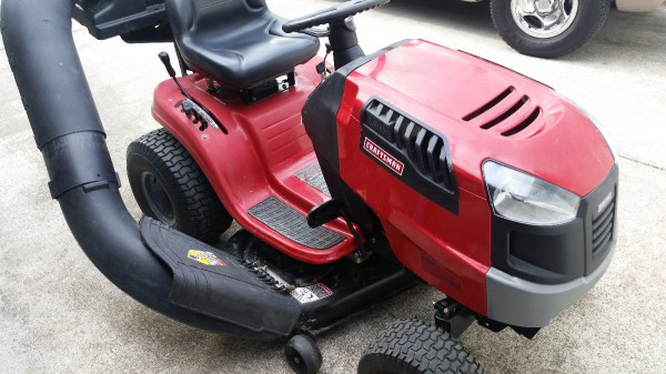 I Have A Craftsman Lt2000 Riding Mower Was Mowing The Yard Other Day Dis Engaged Blade To Go In Reverse Then Put It Drive And Re