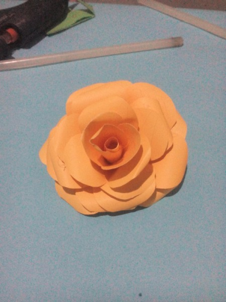 Layered Paper Flowers - finished flower