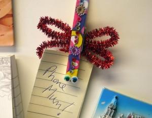 Dragonfly Fridge Magnet - clip on fridge