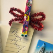Dragonfly Fridge Magnet - clip on fridge