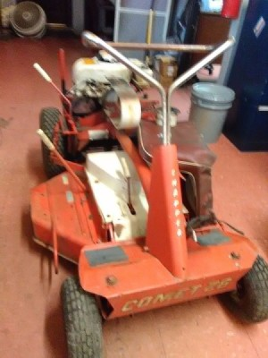 Snapper Comet 26 Riding Mower Keeps Stalling - vintage riding mower