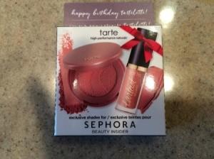 Birthday Freebies - Sephora makeup