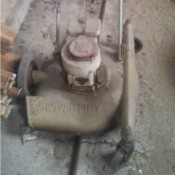 Information on Swivel Boy Lawn Mower - vintage 3 wheel mower