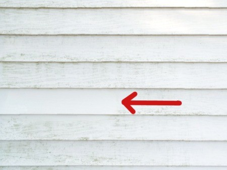 how to clean concrete from vinyl siding