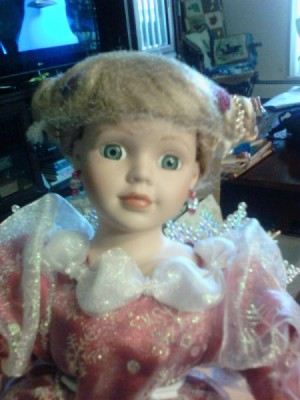 Value of a Heritage Signature Collection Doll - doll with snowflake style wings