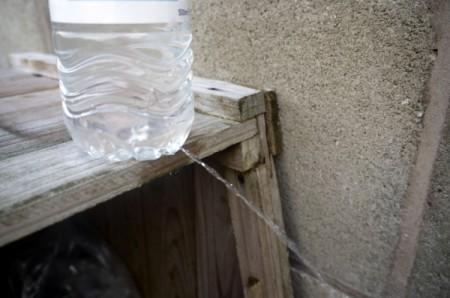DIY Outdoor Plastic Bottle Handwashing Station