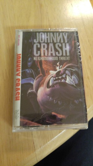 "Value of Johnny Crash ""Neighbourhood Threat"" Casette - sealed cassette"