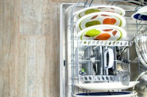 Open dishwasher.