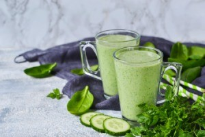 Avocado Yogurt Cucumber Smoothie