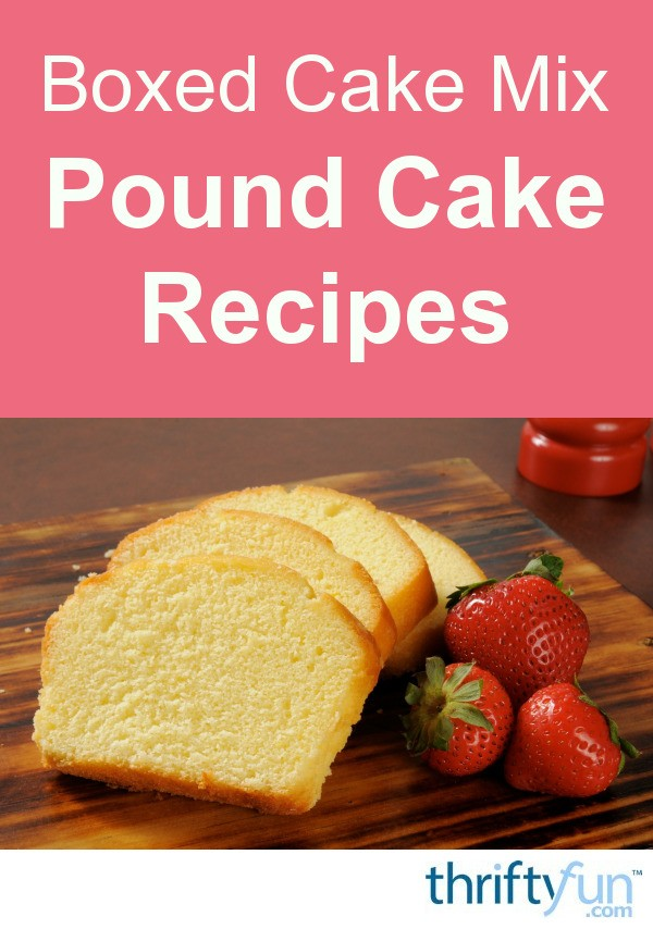 How To Mix A Pound Cake