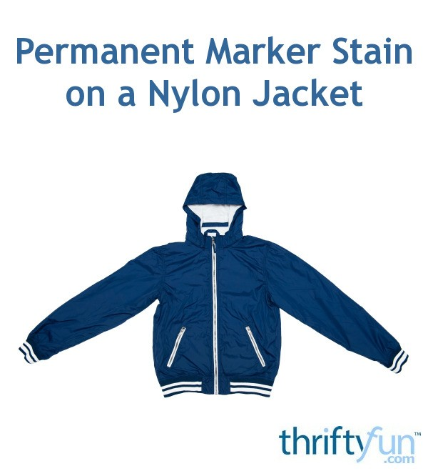 how to get rid of permanent marker stain on clothes