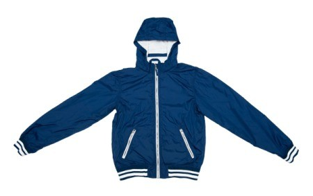 Blue Nylon Jacket