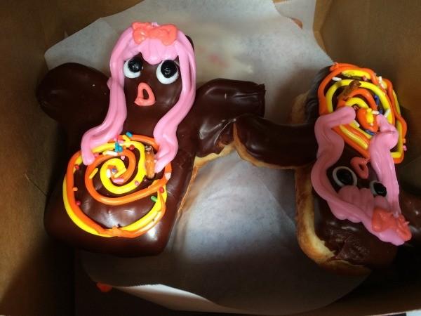 Visting Voodoo Doughnuts (Portland, OR) - voodoo doll donuts