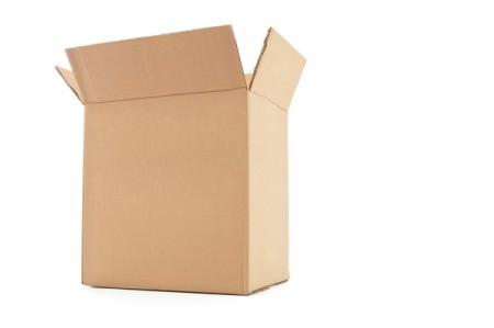 Really large cardboard box.