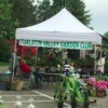 The Tualatin Valley Garden Club's booth at the farmer's market.