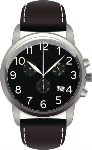 Men's wrist watch.